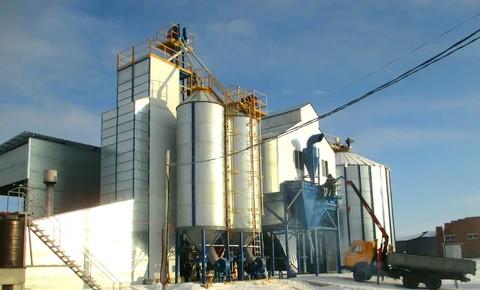 Наш объект ООО «Агрофарм». Успешно реализованы все три этапа зерносушильно-очистительного комплекса.